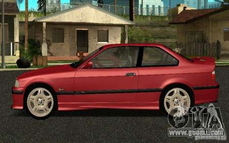 BMW E36 M3 1997 Coupe Forza for GTA San Andreas left view