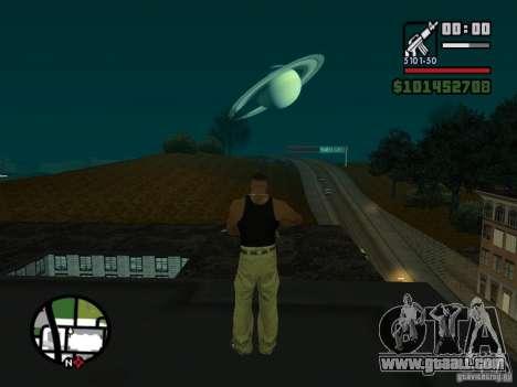 Saturn Mod for GTA San Andreas