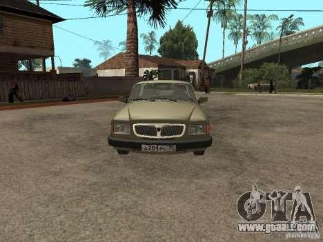 GAZ 3110 v 1 for GTA San Andreas right view
