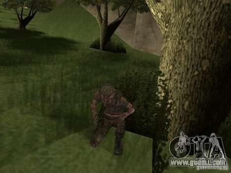 Snork from S.T.A.L.K.E. r for GTA San Andreas second screenshot