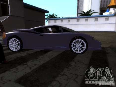 B Engineering Edonis for GTA San Andreas back left view