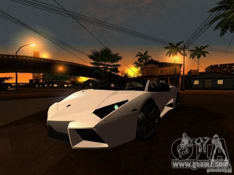 Lamborghini Reventon Roadster for GTA San Andreas left view