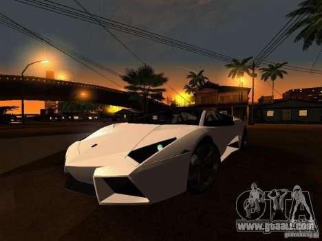Lamborghini Reventon Roadster for GTA San Andreas left view