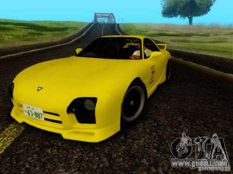 Mazda FD3S - Mazdaspeed A-Spec for GTA San Andreas