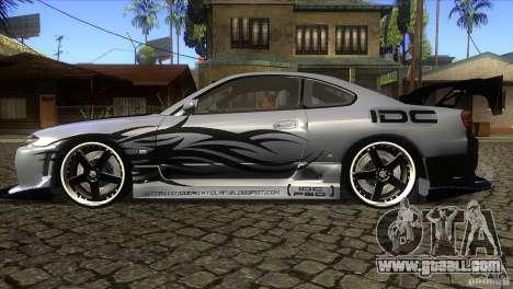 Nissan Silvia S15 Logan for GTA San Andreas left view
