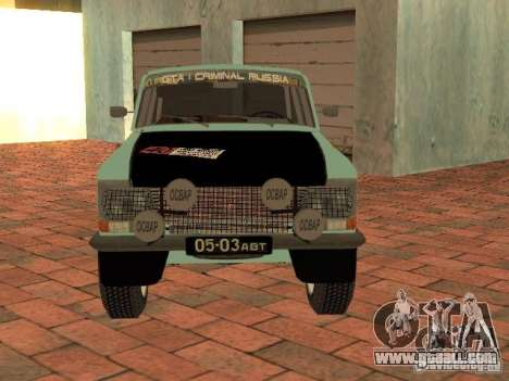 Moskvich 412 Rally Version for GTA San Andreas right view