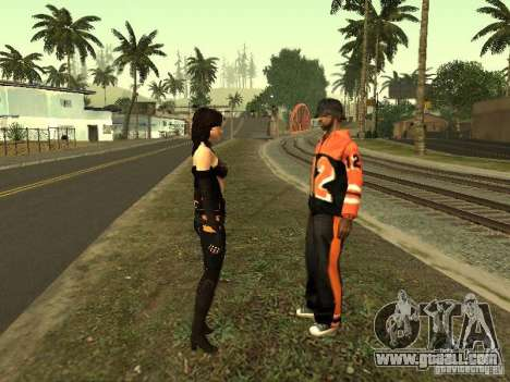 Girls from ME 3 for GTA San Andreas ninth screenshot