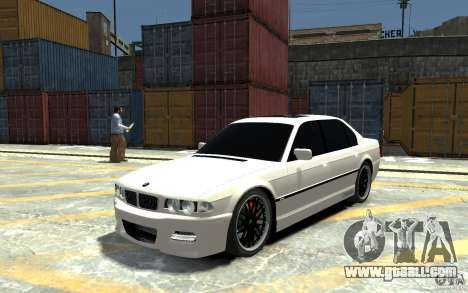 BMW 750i E38 HAMANN for GTA 4