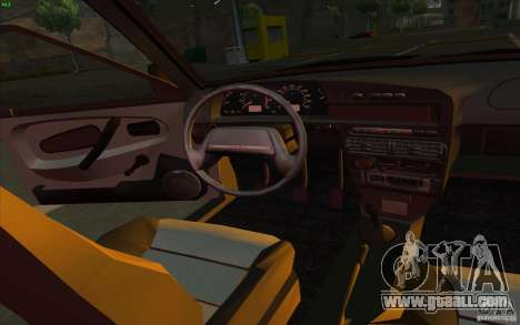 VAZ 2115 Stock v1.0 for GTA San Andreas inner view