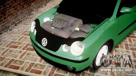 Volkswagen Polo 2.0 2005 for GTA 4 inner view