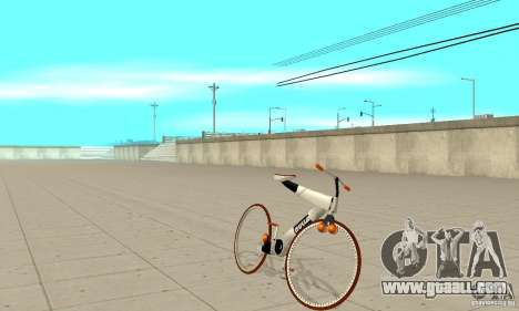 Nulla 2009 Mt Bike for GTA San Andreas left view