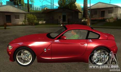 BMW Z4 - Stock for GTA San Andreas left view