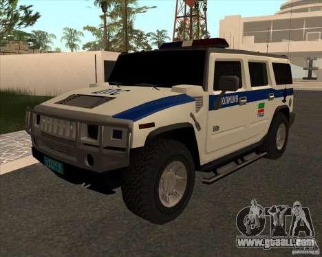 Hummer H2 DPS for GTA San Andreas