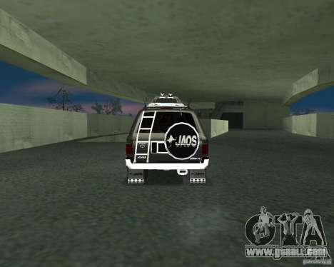 Toyota Surf v2.1 for GTA San Andreas left view