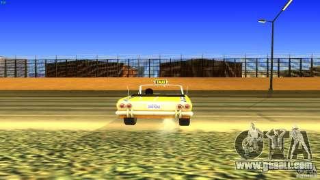 Crazy Taxi - B.D.Joe for GTA San Andreas back view