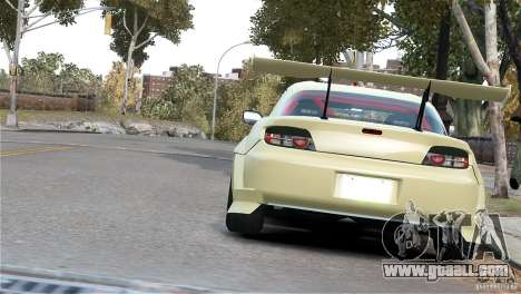 Mazda RX-8 Mad Mike for GTA 4 back left view