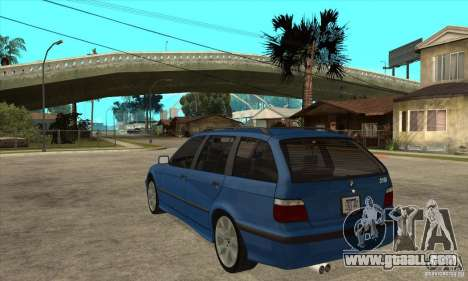 BMW 318i Touring for GTA San Andreas back view