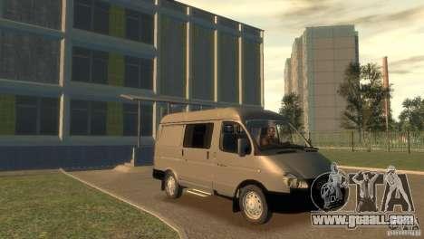 GAZ 2752 Sobol for GTA 4 back view