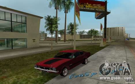 Ford Maverick GT 1975 for GTA Vice City left view