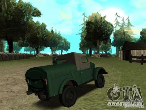 GAZ 69 APA 12 for GTA San Andreas right view