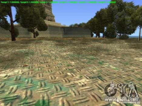 Statue of liberty 2013 for GTA San Andreas forth screenshot