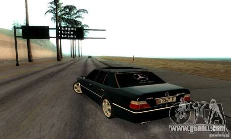 Mercedes-Benz W124 E420 AMG for GTA San Andreas right view