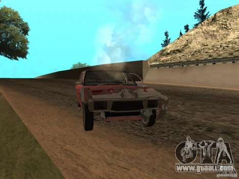 Ford Cortina MK 3 2000E for GTA San Andreas upper view