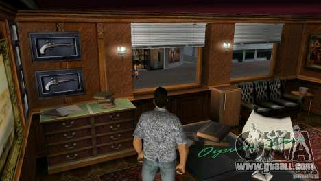Opportunity to enter the interiors for GTA Vice City third screenshot