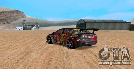 Mitsubishi Lancer Evolution RYO Vatanabe for GTA San Andreas left view
