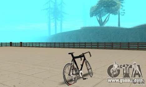 Bike Turmac Legnano for GTA San Andreas left view
