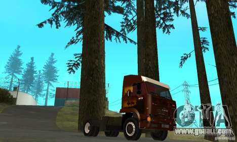 KAMAZ 5460 4 Skin for GTA San Andreas