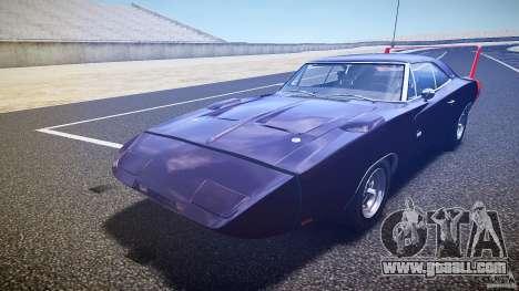 Dodge Charger Daytona 1969 [EPM] for GTA 4 bottom view