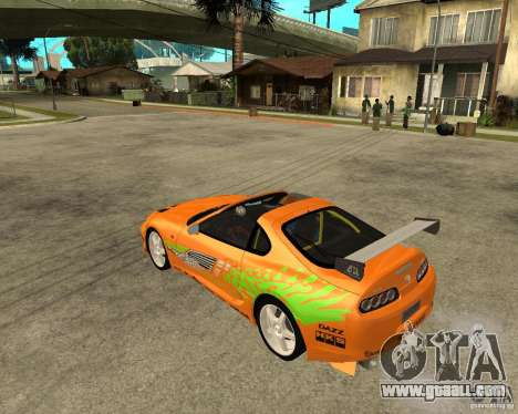 1995 Toyota Supra fnf (BETA!) for GTA San Andreas left view