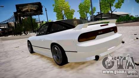 Nissan 240SX Drift for GTA 4 back left view