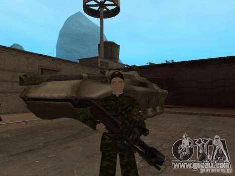 Soldiers of the Russian army for GTA San Andreas fifth screenshot