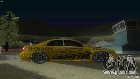 Subaru Impreza WRX No Fear for GTA San Andreas right view