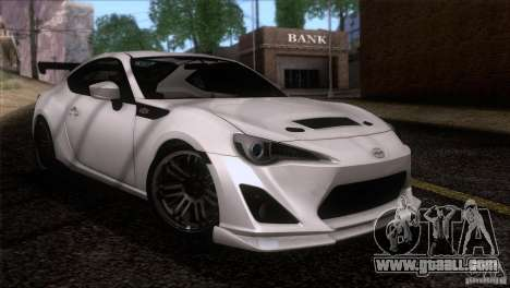 Scion FR-S 2013 for GTA San Andreas right view