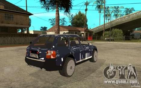 Audi Allroad Quattro for GTA San Andreas right view