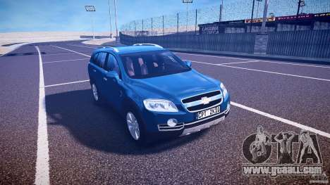 Chevrolet Captiva 2010 Final for GTA 4 inner view