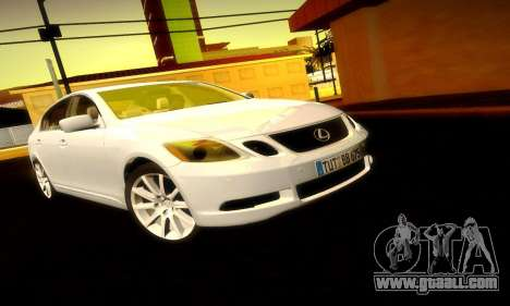 Lexus GS430 for GTA San Andreas side view