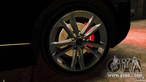 Hyundai Genesis Coupe 2010 for GTA 4 back view