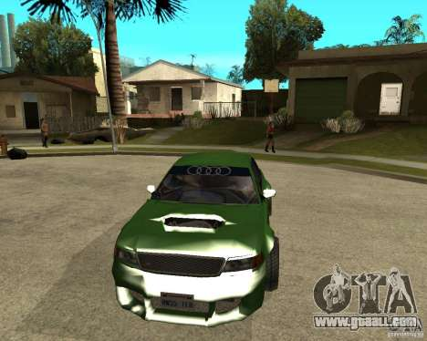 Audi S8 RS Look for GTA San Andreas back view