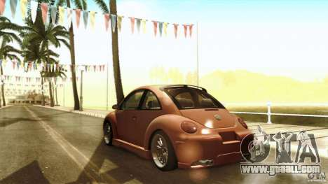 Volkswagen Beetle RSi Tuned for GTA San Andreas upper view