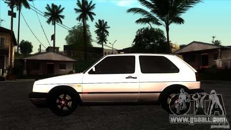 VW Golf 2 for GTA San Andreas left view