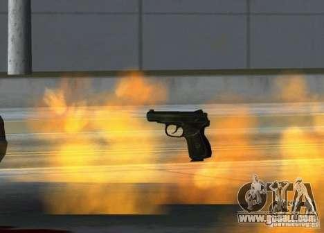 Pak Domestic weapons version 6 for GTA San Andreas forth screenshot