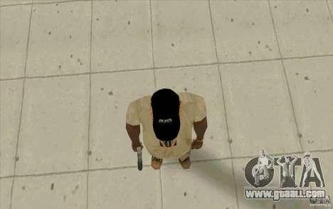 Boss black cap for GTA San Andreas third screenshot