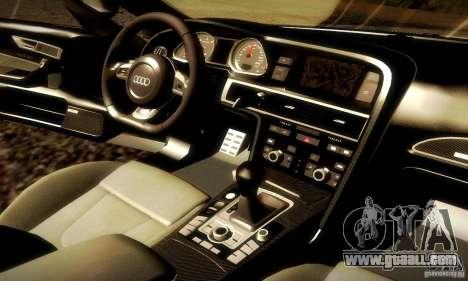 Audi RS6 TT for GTA San Andreas upper view