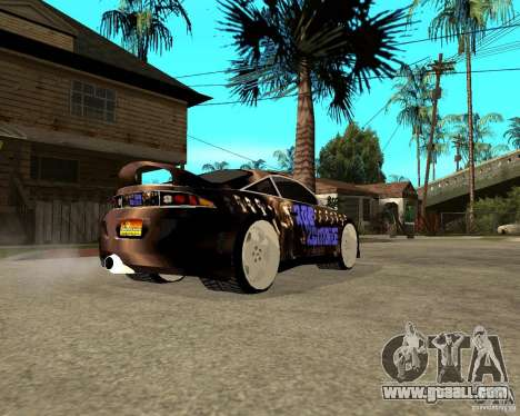 Mitsubishi Eclipse RZ 1998 for GTA San Andreas back left view