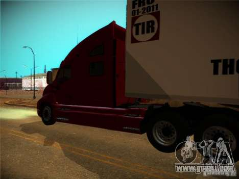 Kenworth T2000 v 2.5 for GTA San Andreas back view