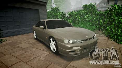 Nissan 200SX for GTA 4 upper view
